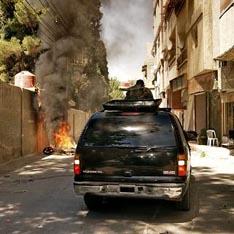 Зачистка по-сирийски: чай, кофе и пули