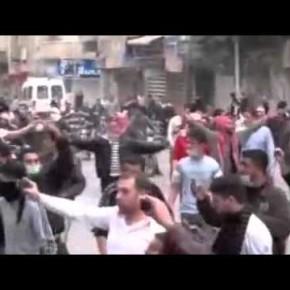 Погромы в Дераа 21.03.2011