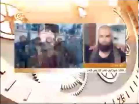 Передача о похищении на телеканале аль-Маядин.