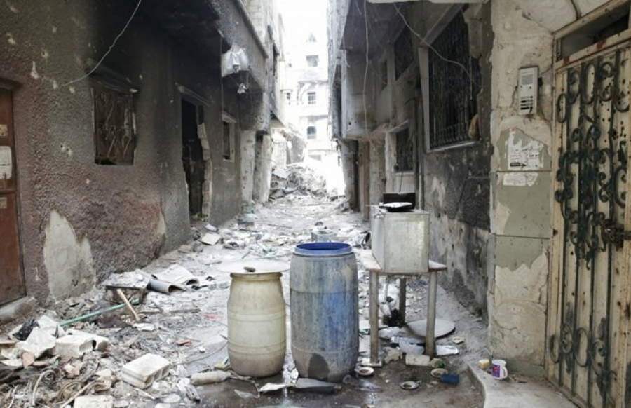 Лагерь беженцев Ярмук. Ад в черте города