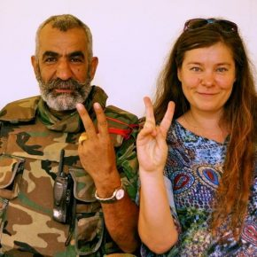 Anhar Kochneva: ''I saw what reaction my photo with Isam caused among insurgents''