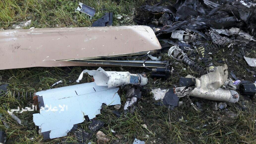 Падение сионистского беспилотника: взгляд очевидца