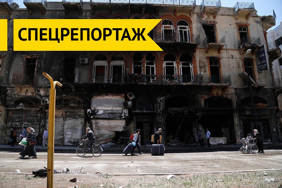 Хомс восстанавливается. Для разрушения Сирии запускается план «Б»