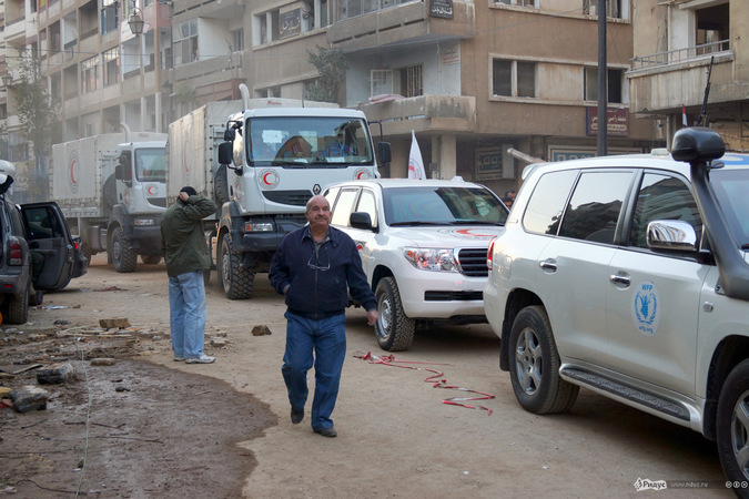 Эвакуация населения из сирийского Старого Хомса. Спецрепортаж «Ридуса»