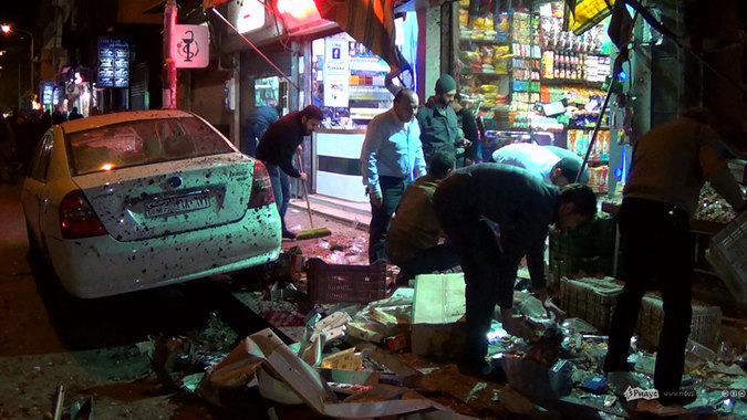 Теракт в Дамаске глазами привыкшего.