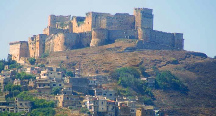 Бандитское гнездо в замке крестоносцев