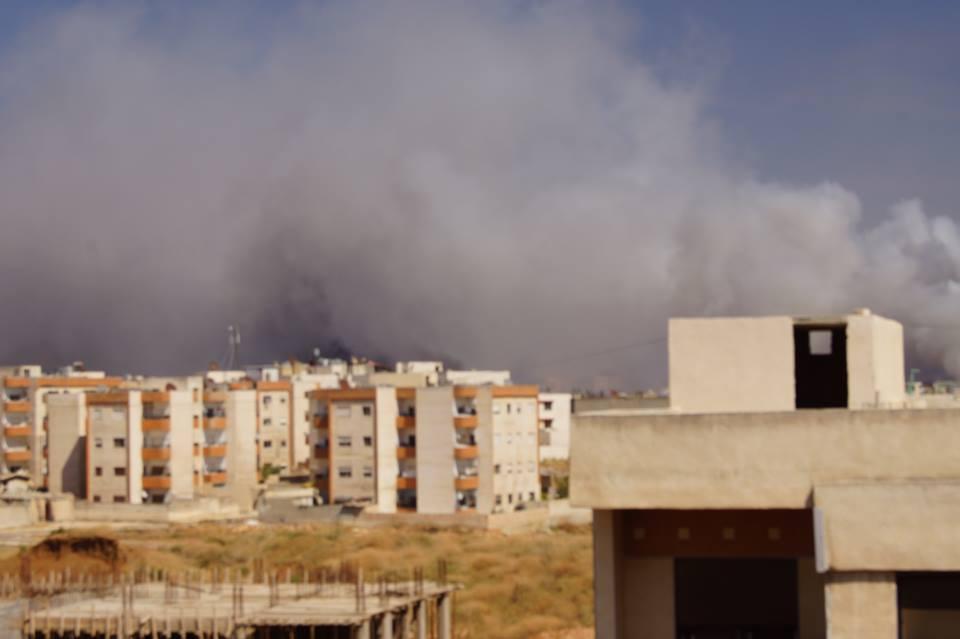 Репортаж с места взрыва в Хомсе