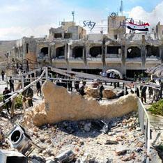 Древний христианский город превратился в руины