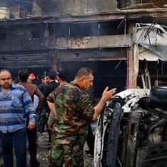 В центре Хомса произошел теракт