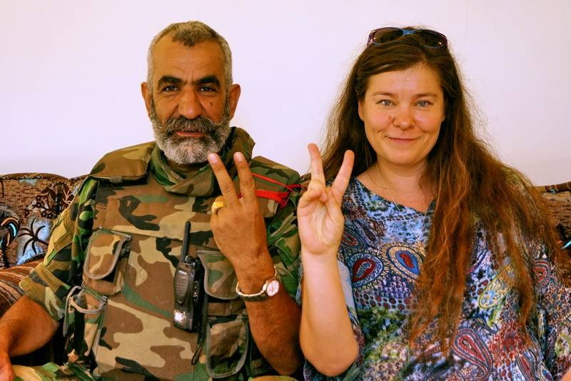 Anhar Kochneva: »I saw what reaction my photo with Isam caused among insurgents»