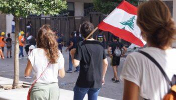 Погромы в Ливане глазами очевидца: убитый полицейский, захват МИД и девицы-провокаторы