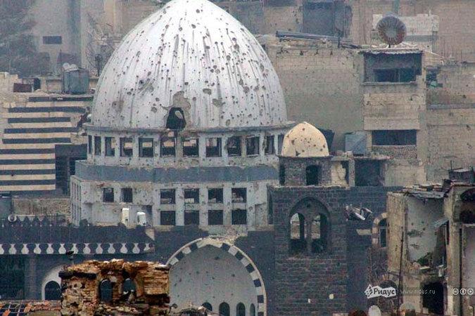 Старый Хомс: «столица» сирийской оппозиции изнутри